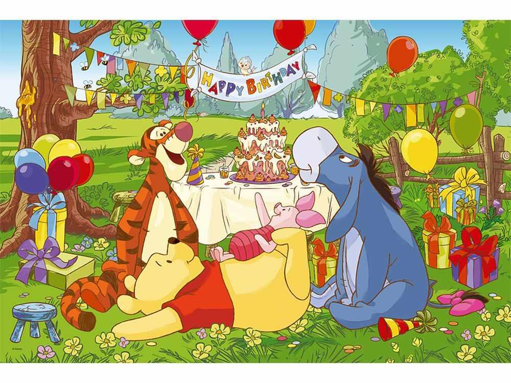Пазлы «День Рождения»Trefl<br>Пазл - игра-головоломка, мозаика, состоящая из множества фрагментов, различающихся по форме.<br> По мнению психологов, игра в пазлы способствует развитию логического мышления, внимания, воображения и памяти. Пазлы хороши для всех возрастов - и ребенка-дошко...<br><br>Артикул: 14138<br>Размер: 60x40 см