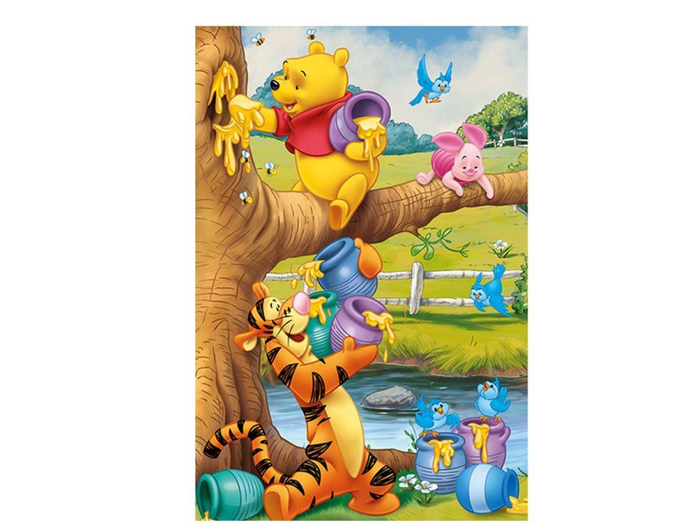 Пазлы «Маленький Винни»Trefl<br>Пазл - игра-головоломка, мозаика, состоящая из множества фрагментов, различающихся по форме.<br> По мнению психологов, игра в пазлы способствует развитию логического мышления, внимания, воображения и памяти. Пазлы хороши для всех возрастов - и ребенка-дошко...<br><br>Артикул: 17264<br>Размер: 33x22 см
