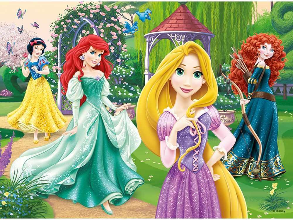 Пазлы «Очаровательные принцессы»Trefl<br>Пазл - игра-головоломка, мозаика, состоящая из множества фрагментов, различающихся по форме.<br> По мнению психологов, игра в пазлы способствует развитию логического мышления, внимания, воображения и памяти. Пазлы хороши для всех возрастов - и ребенка-дошко...<br><br>Артикул: 18172<br>Размер: 22,7x16,7 см