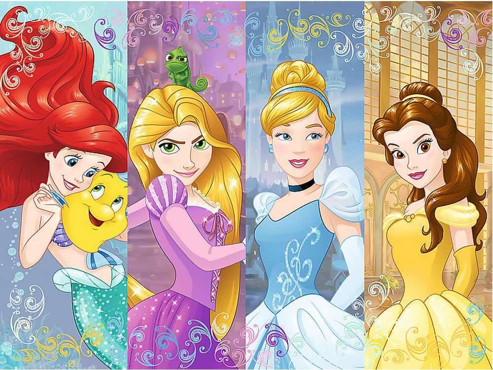 Пазлы «Сказочные принцессы»Trefl<br>Пазл - игра-головоломка, мозаика, состоящая из множества фрагментов, различающихся по форме.<br> По мнению психологов, игра в пазлы способствует развитию логического мышления, внимания, воображения и памяти. Пазлы хороши для всех возрастов - и ребенка-дошко...<br><br>Артикул: 18205<br>Размер: 22,7x16,7 см
