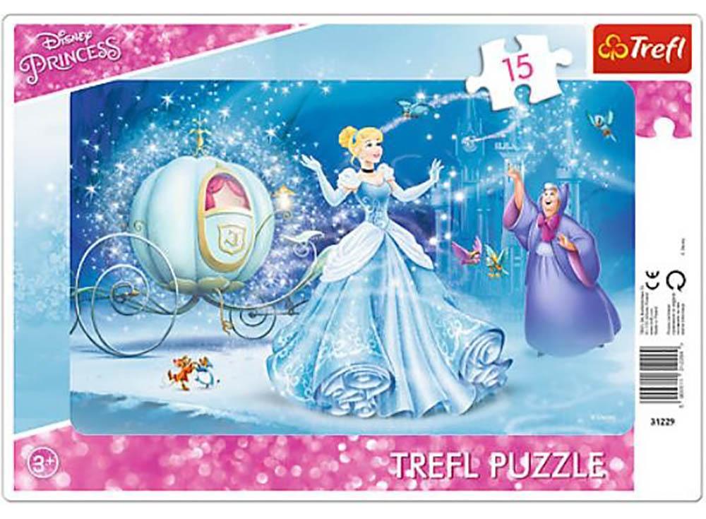 Пазлы «Волшебная ночь»Trefl<br>Пазл - игра-головоломка, мозаика, состоящая из множества фрагментов, различающихся по форме.<br> По мнению психологов, игра в пазлы способствует развитию логического мышления, внимания, воображения и памяти. Пазлы хороши для всех возрастов - и ребенка-дошко...<br><br>Артикул: 31229<br>Размер: 85x58 см