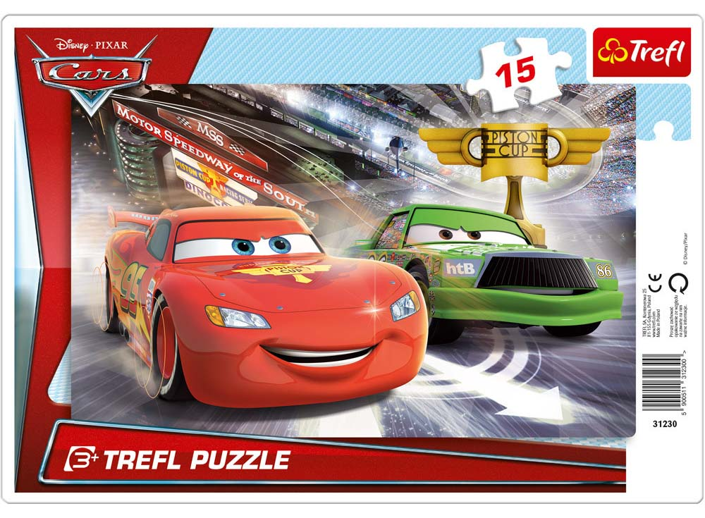 Пазлы «На трассе. Тачки 2»Trefl<br>Пазл - игра-головоломка, мозаика, состоящая из множества фрагментов, различающихся по форме.<br> По мнению психологов, игра в пазлы способствует развитию логического мышления, внимания, воображения и памяти. Пазлы хороши для всех возрастов - и ребенка-дошко...<br><br>Артикул: 31230<br>Размер: 85x58 см