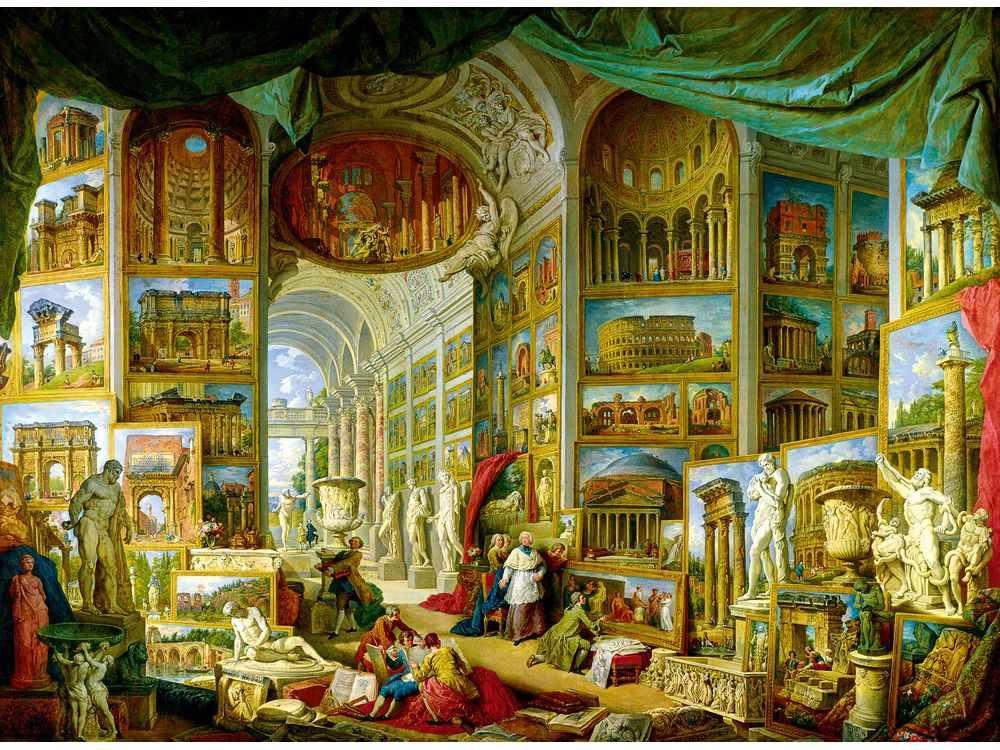 Пазлы «Античный»Trefl<br>Пазл - игра-головоломка, мозаика, состоящая из множества фрагментов, различающихся по форме.<br> По мнению психологов, игра в пазлы способствует развитию логического мышления, внимания, воображения и памяти. Пазлы хороши для всех возрастов - и ребенка-дошко...<br><br>Артикул: 33034<br>Размер: 116x85 см