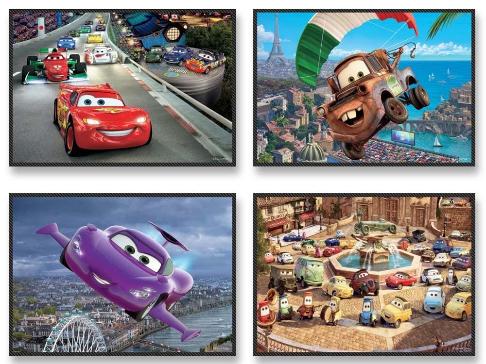 Пазлы «Набор 4-в-1 Начнем путешествие»Trefl<br>Пазл - игра-головоломка, мозаика, состоящая из множества фрагментов, различающихся по форме.<br> По мнению психологов, игра в пазлы способствует развитию логического мышления, внимания, воображения и памяти. Пазлы хороши для всех возрастов - и ребенка-дошко...<br><br>Артикул: 34107<br>Размер: 20,5x28,5 см