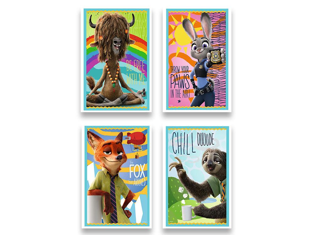 Пазлы «Набор 4-в-1 Герои Зверополиса»Trefl<br>Пазл - игра-головоломка, мозаика, состоящая из множества фрагментов, различающихся по форме.<br> По мнению психологов, игра в пазлы способствует развитию логического мышления, внимания, воображения и памяти. Пазлы хороши для всех возрастов - и ребенка-дошко...<br><br>Артикул: 34258<br>Размер: 20,5x28,5 см