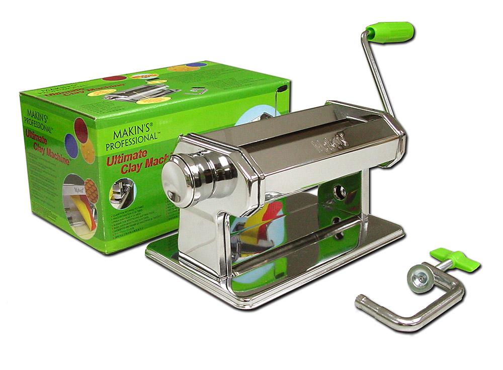 Паста-машина Makin's для полимерной глиныИнструменты для лепки<br><br><br>Артикул: 35054