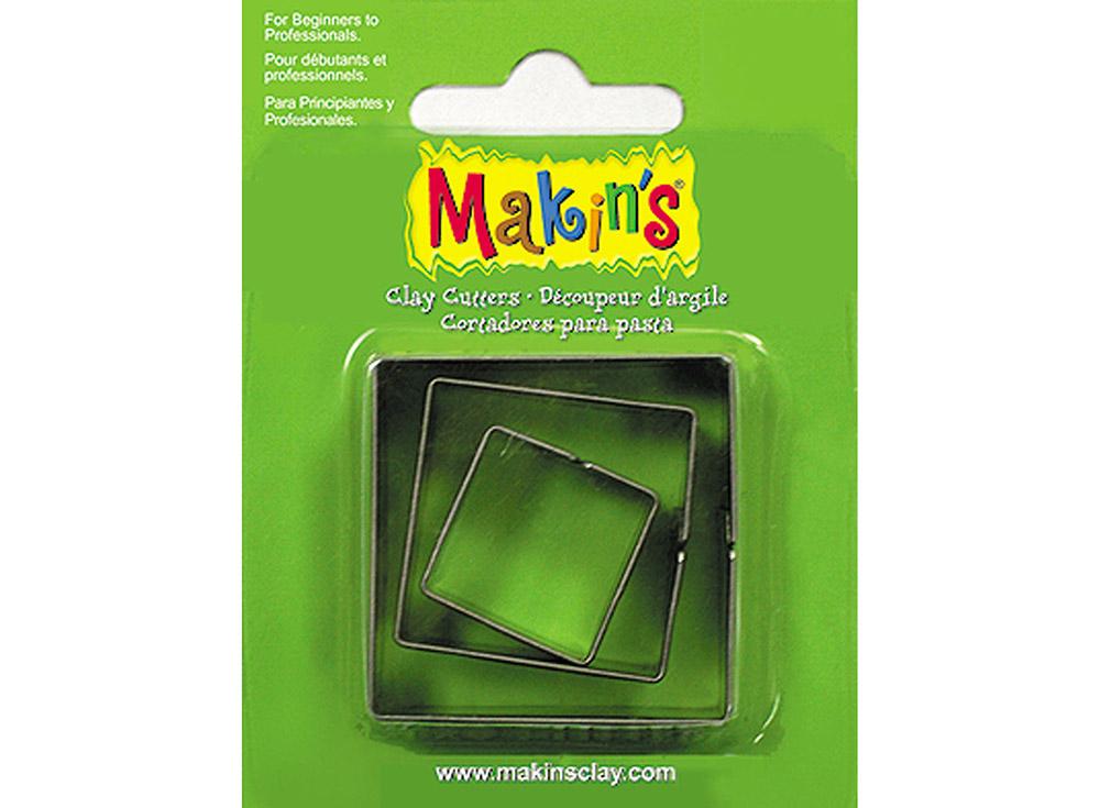 Набор каттеров Makin's «Квадрат»Инструменты для лепки<br><br><br>Артикул: 36002<br>Размер: 20 мм, 30 мм, 40 мм