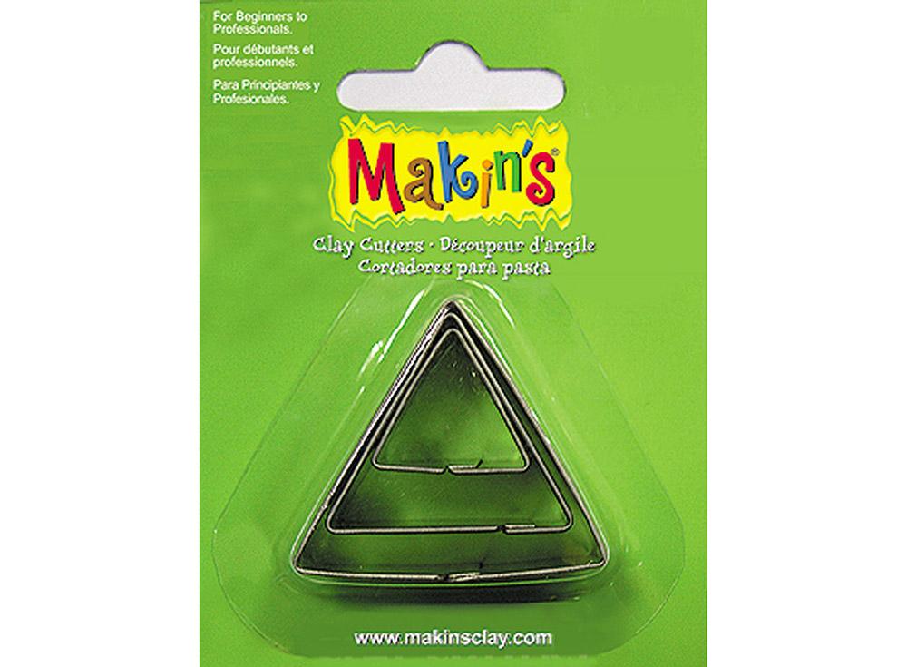 Набор каттеров Makin's «Треугольник»Инструменты для лепки<br><br><br>Артикул: 36003<br>Размер см: 20 мм, 30 мм, 40 мм