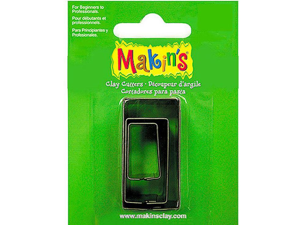 Набор каттеров Makin's «Прямоугольник»Инструменты для лепки<br><br><br>Артикул: 36004<br>Размер см: 40x20, 30x15, 20x10 мм