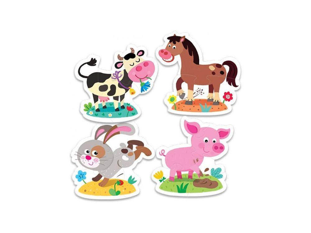 Пазлы «На селе»Trefl<br>Пазл - игра-головоломка, мозаика, состоящая из множества фрагментов, различающихся по форме.<br> По мнению психологов, игра в пазлы способствует развитию логического мышления, внимания, воображения и памяти. Пазлы хороши для всех возрастов - и ребенка-дошко...<br><br>Артикул: 36052