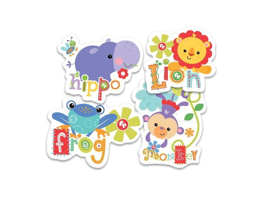 Пазлы «Дикие животные 2»Trefl<br>Пазл - игра-головоломка, мозаика, состоящая из множества фрагментов, различающихся по форме.<br> По мнению психологов, игра в пазлы способствует развитию логического мышления, внимания, воображения и памяти. Пазлы хороши для всех возрастов - и ребенка-дошко...<br><br>Артикул: 36059