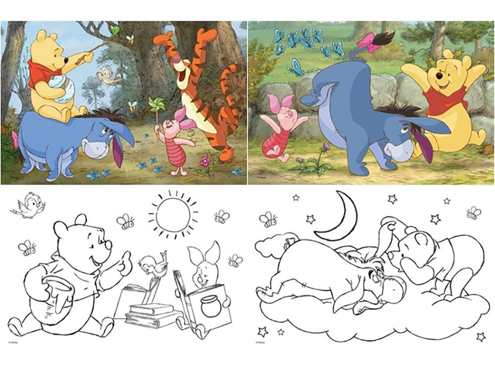 Пазлы «Неожиданные приключения Винни-Пуха»Trefl<br>Пазл - игра-головоломка, мозаика, состоящая из множества фрагментов, различающихся по форме.<br> По мнению психологов, игра в пазлы способствует развитию логического мышления, внимания, воображения и памяти. Пазлы хороши для всех возрастов - и ребенка-дошко...<br><br>Артикул: 36501N<br>Размер: 33x22 см