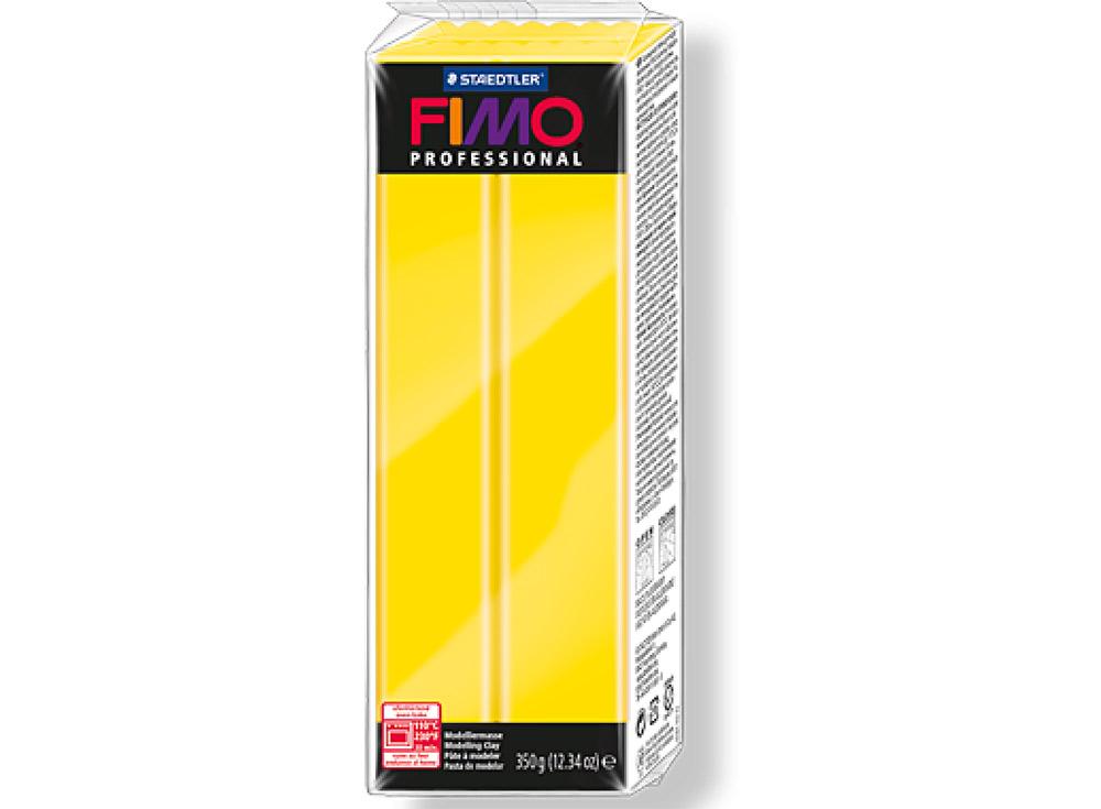 FIMO Professional 1 (желтый) 350 гПолимерная глина FIMO<br>Полимерная глина FIMO Professional используется мастерами и художниками для изделий профессионального уровня - украшений, бижутерии, предметов декора с филигранным моделированием.<br> <br> Характеристика:<br><br>FIMO Professional - усовершенствованная формул...<br><br>Артикул: 8001-1<br>Вес: 350 г<br>Цвет: Желтый<br>Серия: FIMO Professional