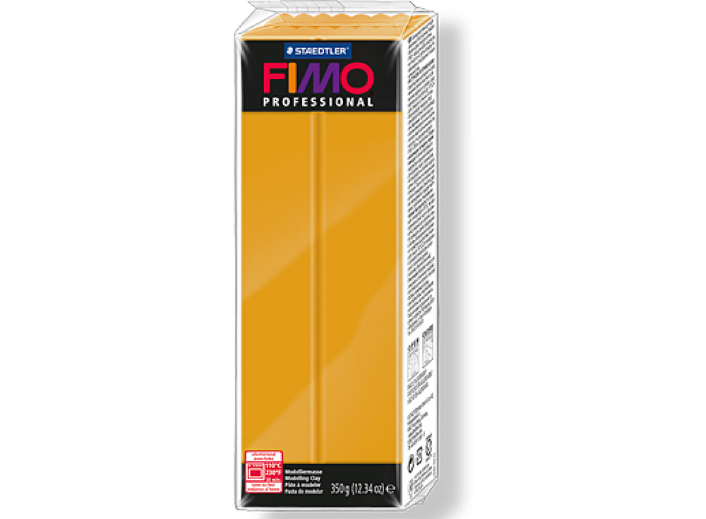 FIMO Professional 17 (охра) 350 гПолимерная глина FIMO<br>Полимерная глина FIMO Professional используется мастерами и художниками для изделий профессионального уровня - украшений, бижутерии, предметов декора с филигранным моделированием.<br> <br> Характеристика:<br><br>FIMO Professional - усовершенствованная формул...<br><br>Артикул: 8001-17<br>Вес: 350 г<br>Цвет: Охра<br>Серия: FIMO Professional