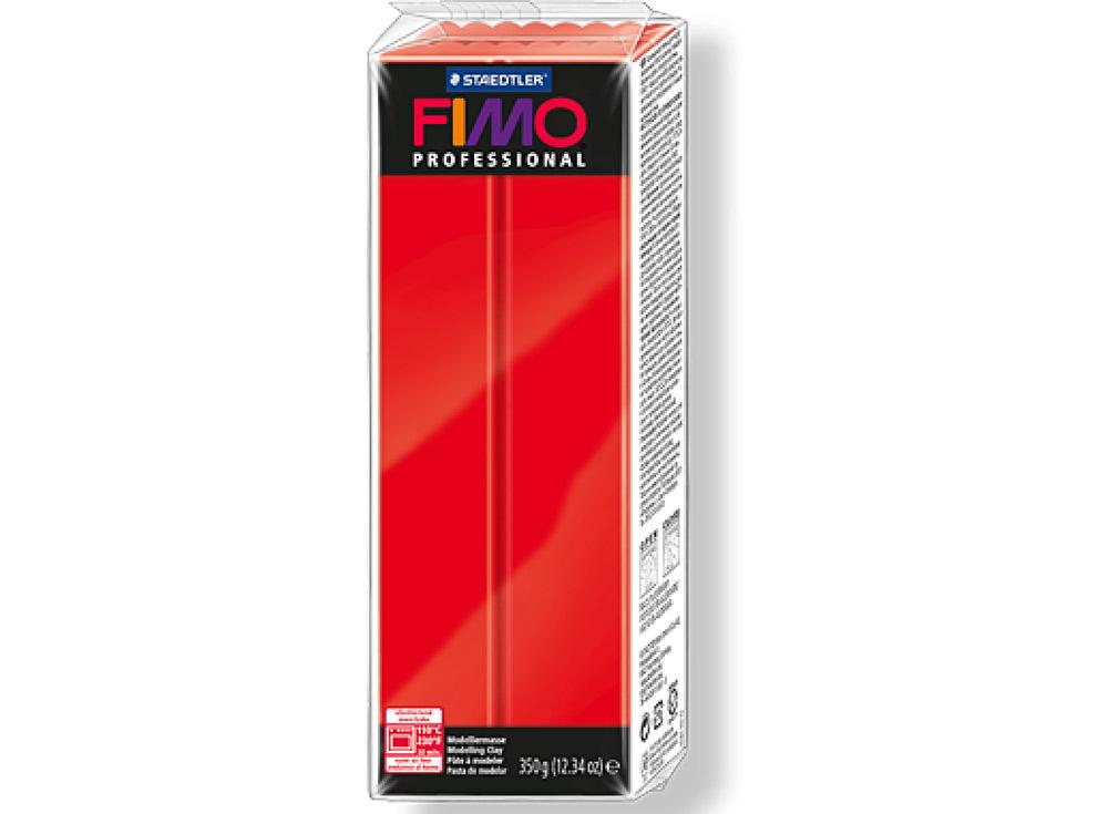 FIMO Professional 200 (чисто красный) 350 гПолимерная глина FIMO<br>Полимерная глина FIMO Professional используется мастерами и художниками для изделий профессионального уровня - украшений, бижутерии, предметов декора с филигранным моделированием.<br> <br> Характеристика:<br><br>FIMO Professional - усовершенствованная формул...<br><br>Артикул: 8001-200<br>Вес: 350 г<br>Цвет: Чисто красный<br>Серия: FIMO Professional