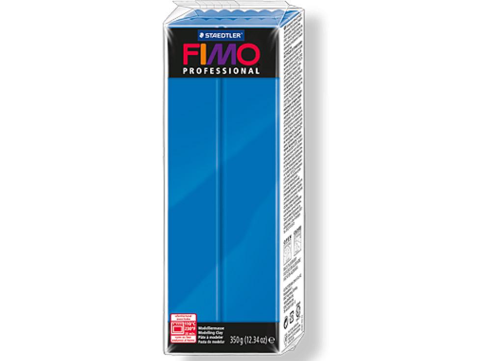 FIMO Professional 300 (чисто синий) 350 гПолимерная глина FIMO<br>Полимерная глина FIMO Professional используется мастерами и художниками для изделий профессионального уровня - украшений, бижутерии, предметов декора с филигранным моделированием.<br> <br> Характеристика:<br><br>FIMO Professional - усовершенствованная формул...<br><br>Артикул: 8001-300<br>Вес: 350 г<br>Цвет: Чисто синий<br>Серия: FIMO Professional