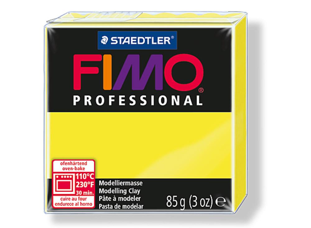FIMO Professional 100 (желтый)Полимерна глина FIMO<br>Полимерна глина FIMO Professional используетс мастерами и художниками дл изделий профессионального уровн - украшений, бижутерии, предметов декора с филигранным моделированием.<br> <br> Характеристика:<br><br>FIMO Professional - усовершенствованна формул...<br><br>Артикул: 8004-1<br>Вес: 85 г<br>Цвет: Желтый<br>Сери: FIMO Professional