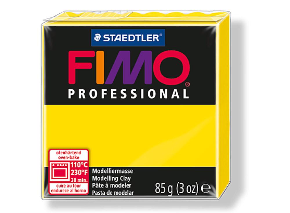 FIMO Professional 100 (чисто желтый)Полимерная глина FIMO<br>Полимерная глина — удивительный материал для творчества и декоративно-прикладного искусства. Лепка из полимерной глины в равной степени увлекает детей и взрослых, вдохновляет мастеров и новичков. Этот вид творчества не требует профессиональной подготовки ...<br><br>Артикул: 8004-100<br>Вес: 85 г<br>Цвет: Чисто желтый<br>Серия: FIMO Professional