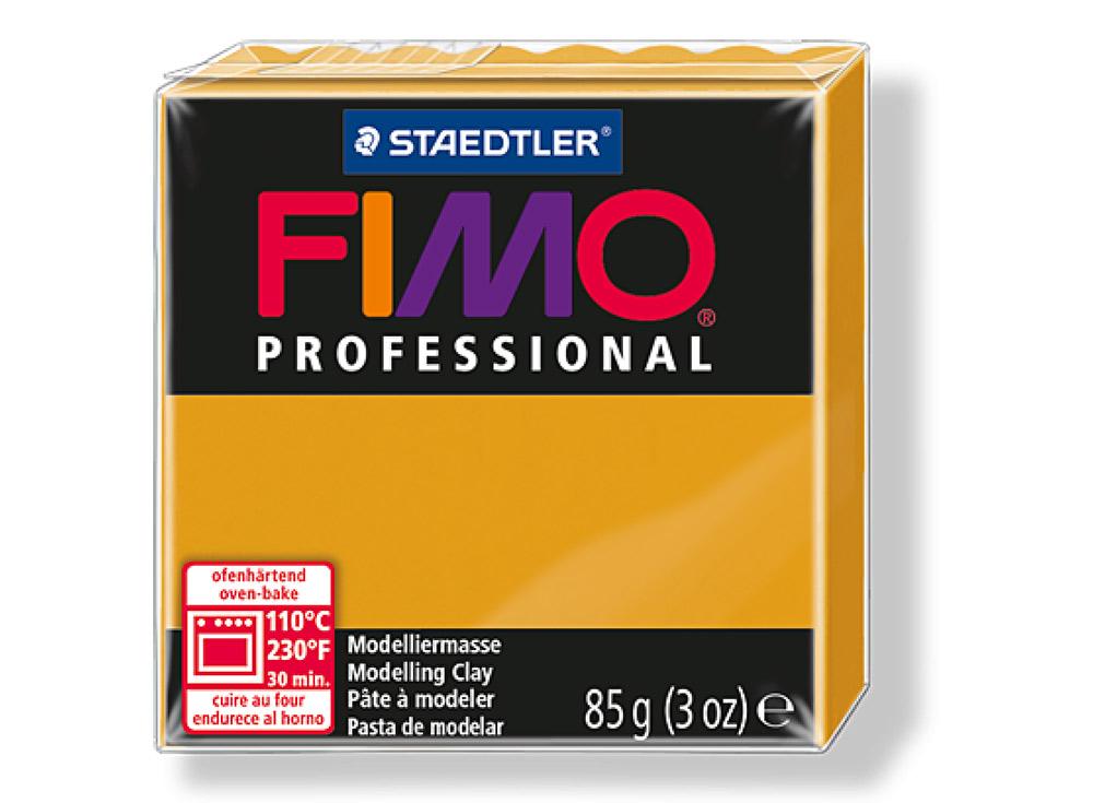 FIMO Professional 17 (охра)Полимерная глина FIMO<br>Полимерная глина FIMO Professional используется мастерами и художниками для изделий профессионального уровня - украшений, бижутерии, предметов декора с филигранным моделированием.<br> <br> Характеристика:<br><br>FIMO Professional - усовершенствованная формул...<br><br>Артикул: 8004-17<br>Вес: 85 г<br>Цвет: Охра<br>Серия: FIMO Professional