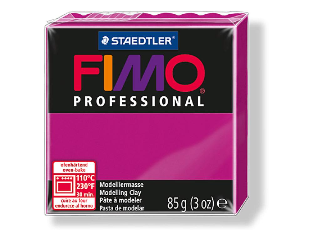 FIMO Professional 210 (чисто пурпурный)Полимерная глина FIMO<br>Полимерная глина — удивительный материал для творчества и декоративно-прикладного искусства. Лепка из полимерной глины в равной степени увлекает детей и взрослых, вдохновляет мастеров и новичков. Этот вид творчества не требует профессиональной подготовки ...<br><br>Артикул: 8004-210<br>Вес: 85 г<br>Цвет: Чисто пурпурный<br>Серия: FIMO Professional
