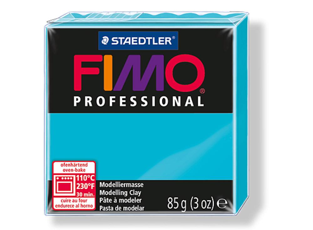 FIMO Professional 32 (бирюзовый)Полимерная глина FIMO<br>Полимерная глина — удивительный материал для творчества и декоративно-прикладного искусства. Лепка из полимерной глины в равной степени увлекает детей и взрослых, вдохновляет мастеров и новичков. Этот вид творчества не требует профессиональной подготовки ...<br><br>Артикул: 8004-32<br>Вес: 85 г<br>Цвет: Бирюзовый<br>Серия: FIMO Professional