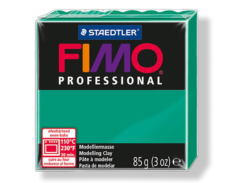 FIMO Professional 500 (чисто зеленый)Полимерная глина FIMO<br>Полимерная глина FIMO Professional используется мастерами и художниками для изделий профессионального уровня - украшений, бижутерии, предметов декора с филигранным моделированием.<br> <br> Характеристика:<br><br>FIMO Professional - усовершенствованная формул...<br><br>Артикул: 8004-500<br>Вес: 85 г<br>Цвет: Чисто зеленый<br>Серия: FIMO Professional
