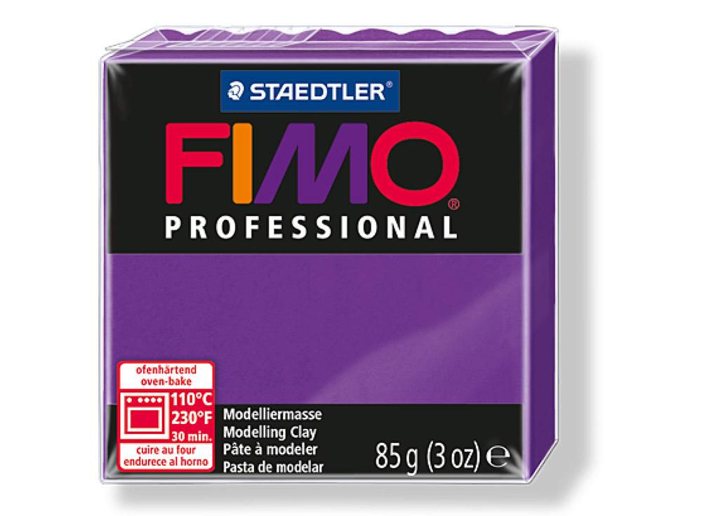 FIMO Professional 6 (лиловый)Полимерная глина FIMO<br>Полимерная глина FIMO Professional используется мастерами и художниками для изделий профессионального уровня - украшений, бижутерии, предметов декора с филигранным моделированием.<br> <br> Характеристика:<br><br>FIMO Professional - усовершенствованная формул...<br><br>Артикул: 8004-6<br>Вес: 85 г<br>Цвет: Лиловый<br>Серия: FIMO Professional