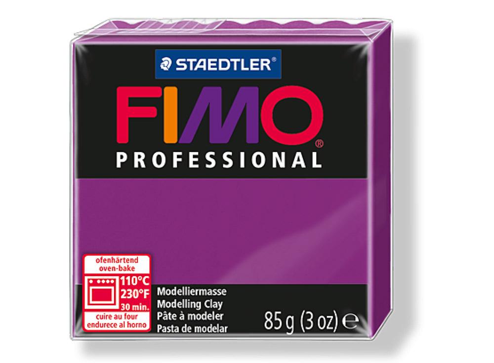 FIMO Professional 61 (фиолетовый)Полимерная глина FIMO<br>Полимерная глина — удивительный материал для творчества и декоративно-прикладного искусства. Лепка из полимерной глины в равной степени увлекает детей и взрослых, вдохновляет мастеров и новичков. Этот вид творчества не требует профессиональной подготовки ...<br><br>Артикул: 8004-61<br>Вес: 85 г<br>Цвет: Фиолетовый<br>Серия: FIMO Professional