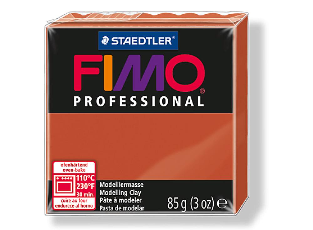 FIMO Professional 74 (терракота)Полимерная глина FIMO<br>Полимерная глина FIMO Professional используется мастерами и художниками для изделий профессионального уровня - украшений, бижутерии, предметов декора с филигранным моделированием.<br> <br> Характеристика:<br><br>FIMO Professional - усовершенствованная формул...<br><br>Артикул: 8004-74<br>Вес: 85 г<br>Цвет: Терракотовый<br>Серия: FIMO Professional