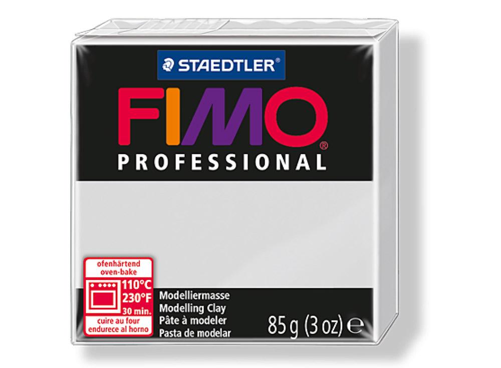 FIMO Professional 80 (серый дельфин)Полимерная глина FIMO<br>Полимерная глина FIMO Professional используется мастерами и художниками для изделий профессионального уровня - украшений, бижутерии, предметов декора с филигранным моделированием.<br> <br> Характеристика:<br><br>FIMO Professional - усовершенствованная формул...<br><br>Артикул: 8004-80<br>Вес: 85 г<br>Цвет: Серый дельфин<br>Серия: FIMO Professional