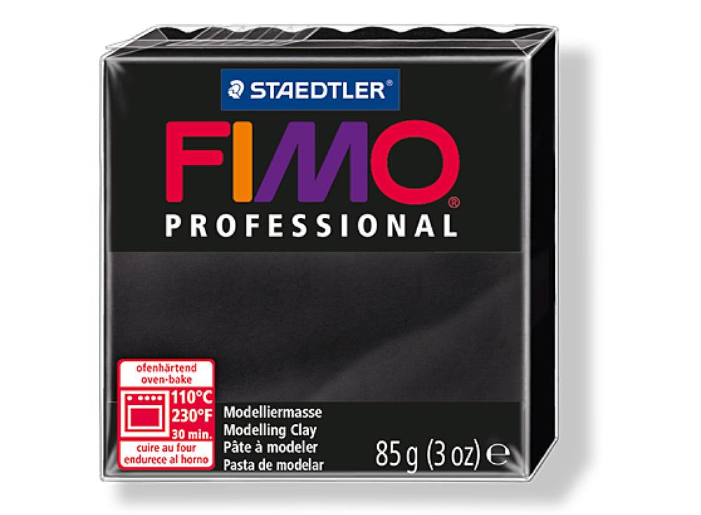FIMO Professional 9 (черный)Полимерная глина FIMO<br>Полимерная глина FIMO Professional используется мастерами и художниками для изделий профессионального уровня - украшений, бижутерии, предметов декора с филигранным моделированием.<br> <br> Характеристика:<br><br>FIMO Professional - усовершенствованная формул...<br><br>Артикул: 8004-9<br>Вес: 85 г<br>Цвет: Черный<br>Серия: FIMO Professional