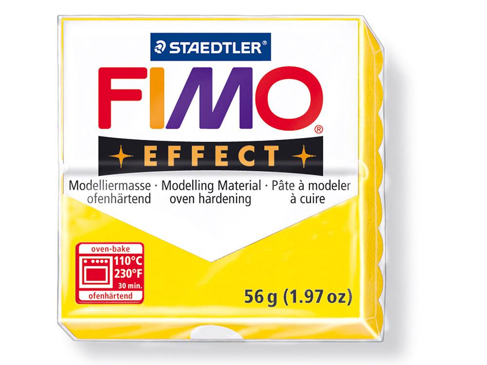 FIMO Effect 104 (полупрозрачный желтый)Полимерная глина FIMO<br>Полимерная глина — удивительный материал для творчества и декоративно-прикладного искусства. Лепка из полимерной глины в равной степени увлекает детей и взрослых, вдохновляет мастеров и новичков. Этот вид творчества не требует профессиональной подготовки ...<br><br>Артикул: 8020-104<br>Вес: 57 г<br>Цвет: Полупрозрачный желтый<br>Серия: FIMO Effect