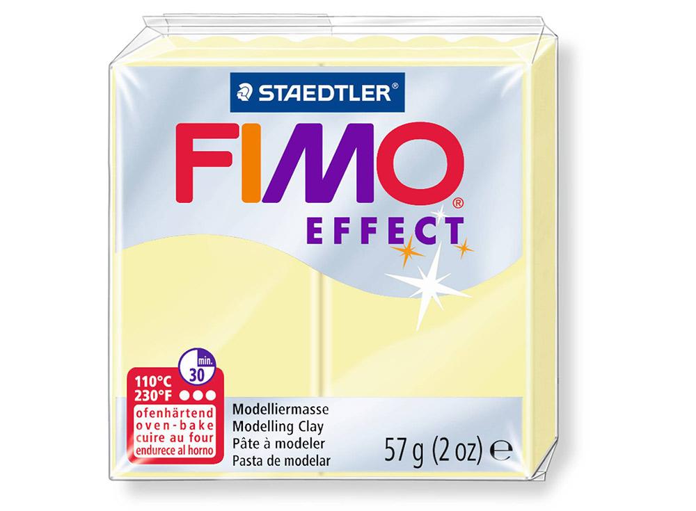 FIMO Effect 105 (ваниль)Полимерная глина FIMO<br>Полимерная глина — удивительный материал для творчества и декоративно-прикладного искусства. Лепка из полимерной глины в равной степени увлекает детей и взрослых, вдохновляет мастеров и новичков. Этот вид творчества не требует профессиональной подготовки ...<br><br>Артикул: 8020-105<br>Вес: 57 г<br>Цвет: Ваниль<br>Серия: FIMO Effect