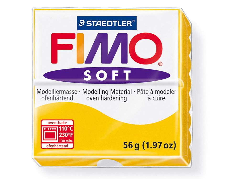 FIMO Soft 16 (желтый)Полимерная глина FIMO<br>Полимерная глина — удивительный материал для творчества и декоративно-прикладного искусства. Лепка из полимерной глины в равной степени увлекает детей и взрослых, вдохновляет мастеров и новичков. Этот вид творчества не требует профессиональной подготовки ...<br>