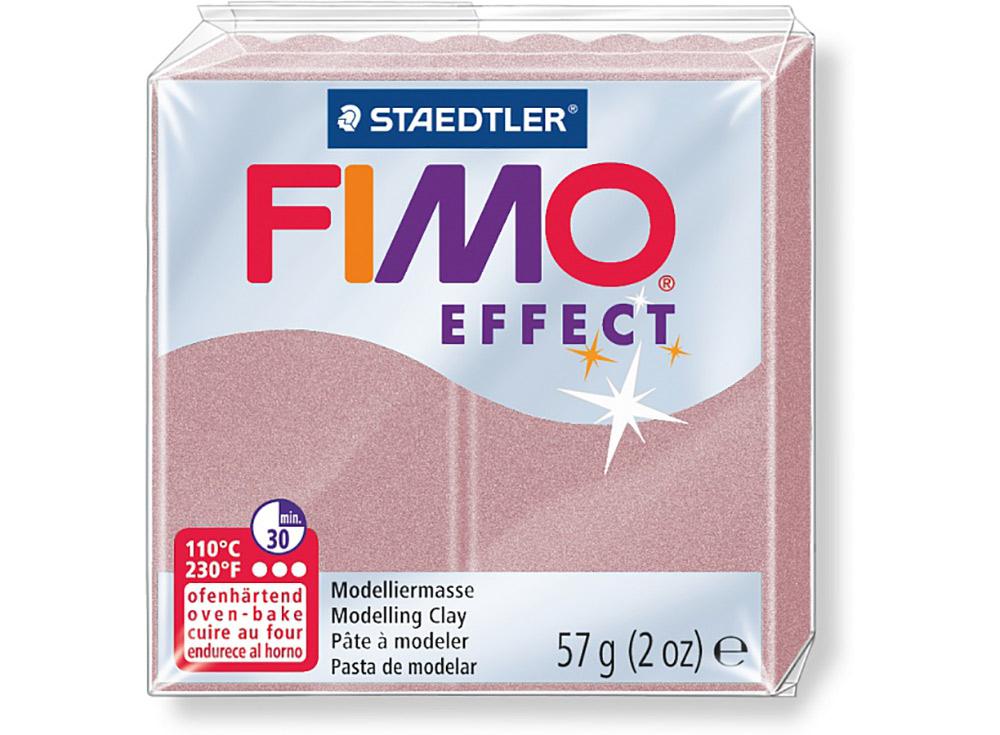 FIMO Effect 207 (перламутровая роза)Полимерная глина FIMO<br>Полимерная глина — удивительный материал для творчества и декоративно-прикладного искусства. Лепка из полимерной глины в равной степени увлекает детей и взрослых, вдохновляет мастеров и новичков. Этот вид творчества не требует профессиональной подготовки ...<br><br>Артикул: 8020-207<br>Вес: 57 г<br>Цвет: Перламутровая роза<br>Серия: FIMO Effect