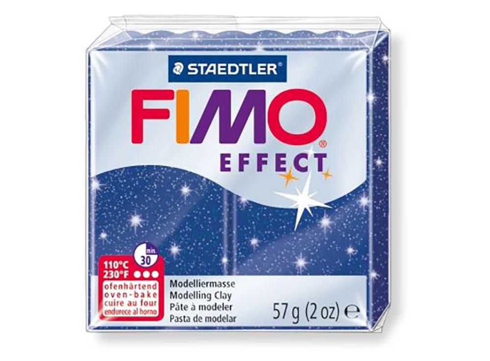 FIMO Effect 302 (синий с блестками)Полимерная глина FIMO<br>Полимерная глина — удивительный материал для творчества и декоративно-прикладного искусства. Лепка из полимерной глины в равной степени увлекает детей и взрослых, вдохновляет мастеров и новичков. Этот вид творчества не требует профессиональной подготовки ...<br><br>Артикул: 8020-302<br>Вес: 57 г<br>Цвет: Синий с блестками<br>Серия: FIMO Effect
