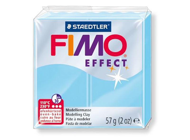 FIMO Effect 305 (вода)Полимерная глина FIMO<br><br><br>Артикул: 8020-305<br>Вес: 57 г<br>Цвет: Вода<br>Серия: FIMO Effect