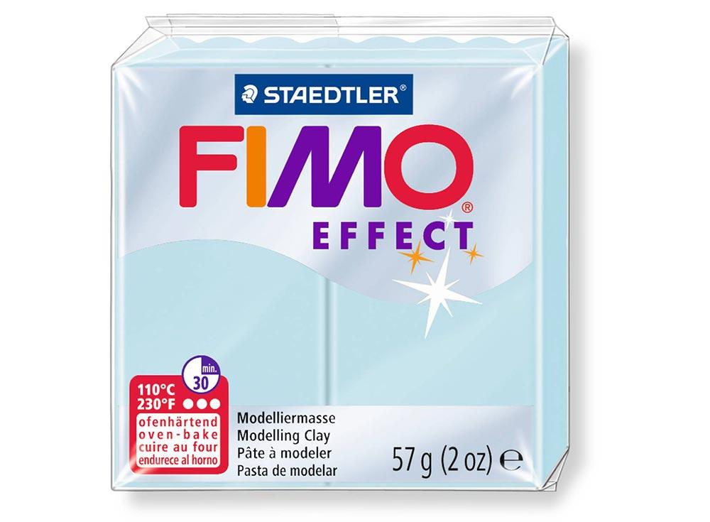 FIMO Effect 306 (голубой ледяной кварц)Полимерная глина FIMO<br><br><br>Артикул: 8020-306<br>Вес: 57 г<br>Цвет: Голубой ледяной кварц<br>Серия: FIMO Effect