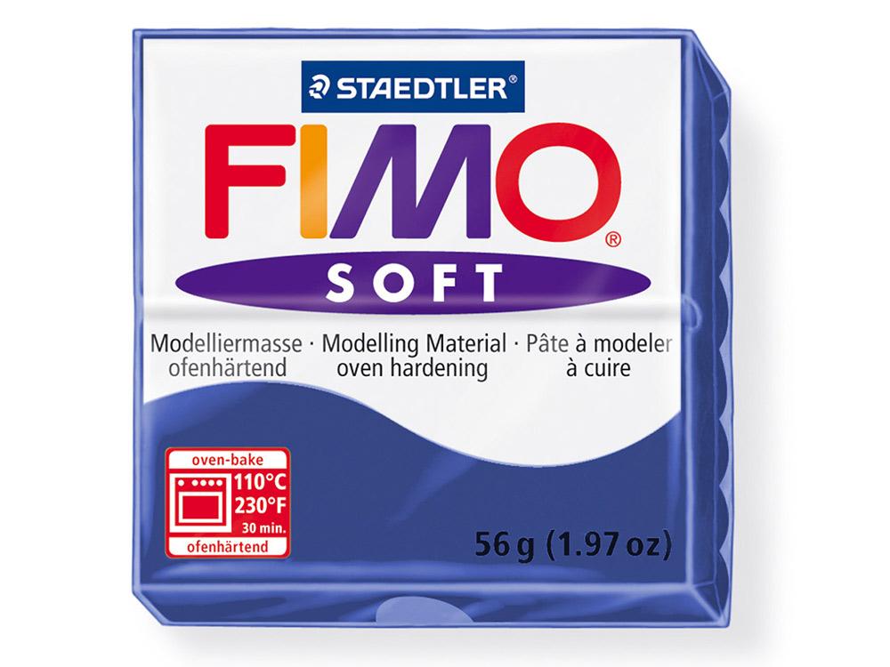 FIMO Soft 35 (королевский синий)Полимерная глина FIMO<br>Полимерная глина FIMO Soft используется для изготовления украшений, бижутерии и предметов декора.<br> <br> Характеристика:<br><br>мягкая (мягче, чем FIMO Professional);<br>хорошо держит форму, плотность глины позволяет тщательно проработать мельчайшие подробности...<br><br>Артикул: 8020-35<br>Вес: 57 г<br>Цвет: Королевский синий<br>Серия: FIMO Soft