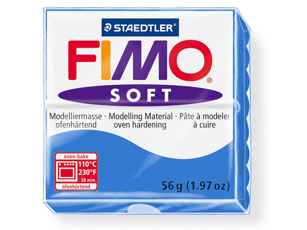 FIMO Soft 37 (синий)Полимерная глина FIMO<br>Полимерная глина — удивительный материал для творчества и декоративно-прикладного искусства. Лепка из полимерной глины в равной степени увлекает детей и взрослых, вдохновляет мастеров и новичков. Этот вид творчества не требует профессиональной подготовки ...<br><br>Артикул: 8020-37<br>Вес: 57 г<br>Цвет: Синий<br>Серия: FIMO Soft
