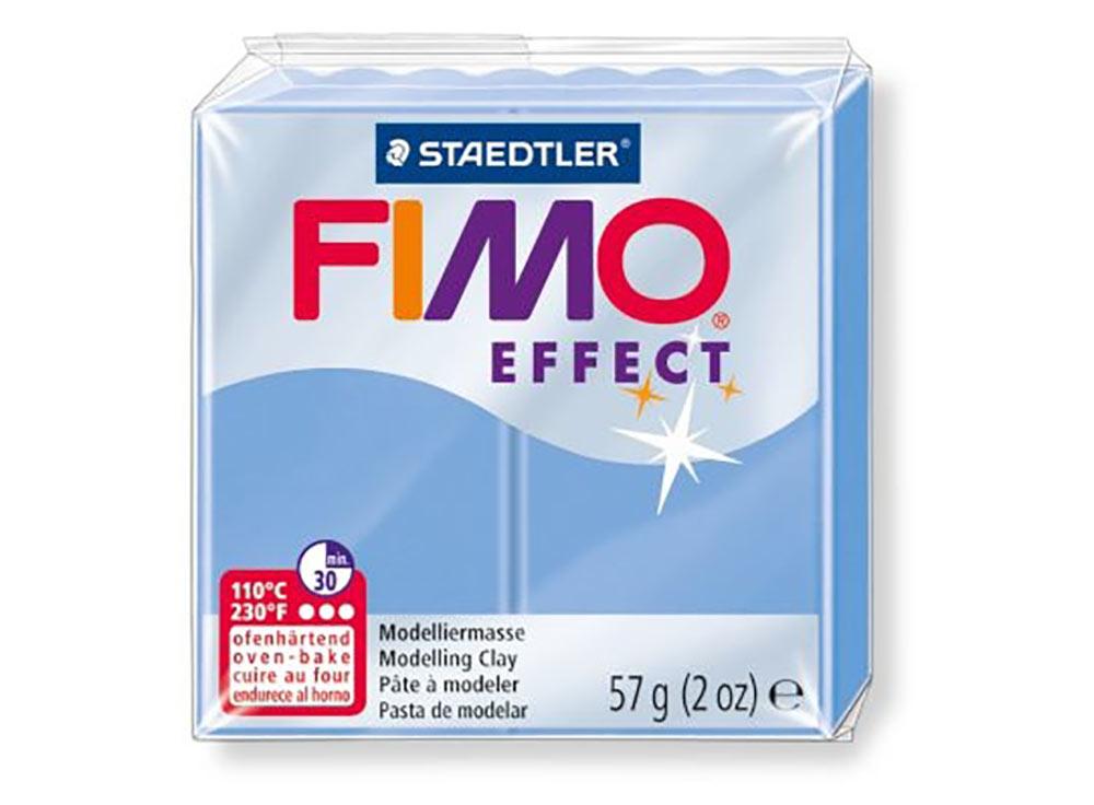 FIMO Effect 386 (голубой агат)Полимерная глина FIMO<br><br><br>Артикул: 8020-386<br>Вес: 57 г<br>Цвет: Голубой агат<br>Серия: FIMO Effect