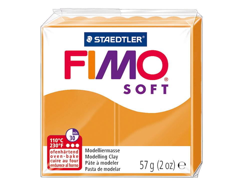 FIMO Soft 41 (апельсин)Полимерная глина FIMO<br>Полимерная глина — удивительный материал для творчества и декоративно-прикладного искусства. Лепка из полимерной глины в равной степени увлекает детей и взрослых, вдохновляет мастеров и новичков. Этот вид творчества не требует профессиональной подготовки ...<br><br>Артикул: 8020-41<br>Вес: 57 г<br>Цвет: Апельсин<br>Серия: FIMO Soft