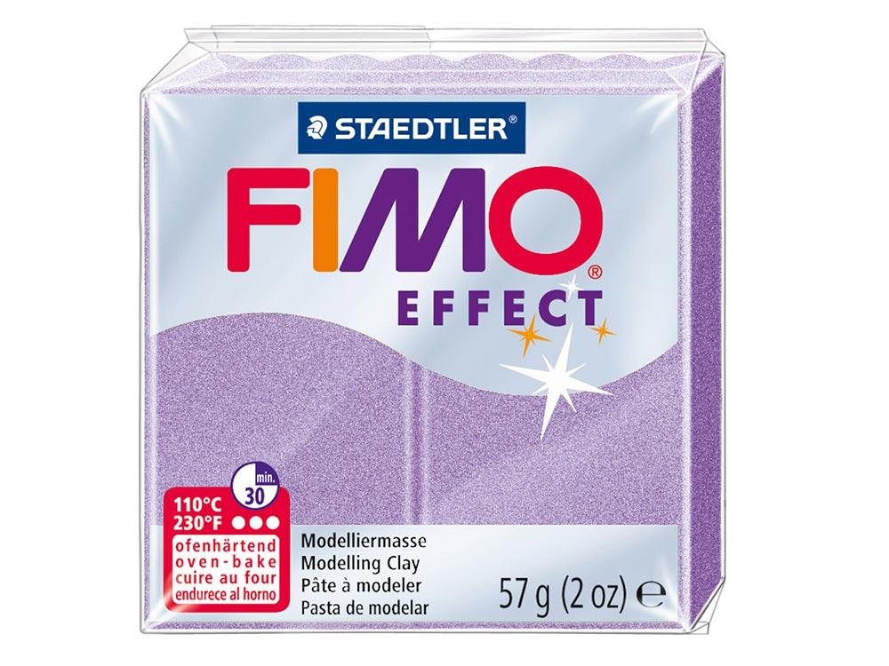 FIMO Effect 607 (перламутровый лиловый)Полимерная глина FIMO<br><br><br>Артикул: 8020-607<br>Вес: 57 г<br>Цвет: Перламутровый лиловый<br>Серия: FIMO Effect