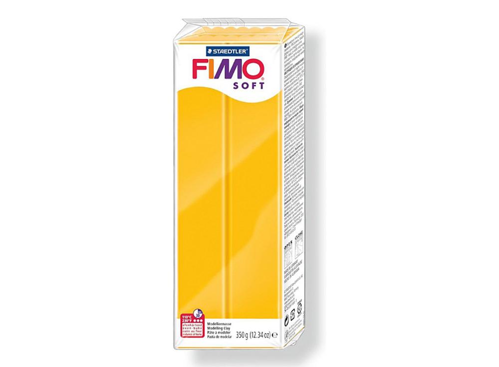 FIMO Soft 16 (жёлтый ) 350 гПолимерная глина FIMO<br>Полимерная глина FIMO Soft используется для изготовления украшений, бижутерии и предметов декора.<br> <br> Характеристика:<br><br>мягкая (мягче, чем FIMO Professional);<br>хорошо держит форму, плотность глины позволяет тщательно проработать мельчайшие подробности...<br><br>Артикул: 8022-16<br>Вес: 350 г<br>Цвет: Желтый<br>Серия: FIMO Soft