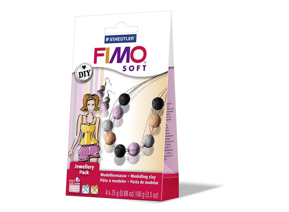 Набор FIMO Soft для украшений «Кораллы»Полимерная глина FIMO<br>Полимерная глина — удивительный материал для творчества и декоративно-прикладного искусства. Лепка из полимерной глины в равной степени увлекает детей и взрослых, вдохновляет мастеров и новичков. Этот вид творчества не требует профессиональной подготовки ...<br><br>Артикул: 8025_07<br>Вес: 25 г<br>Серия: Наборы FIMO