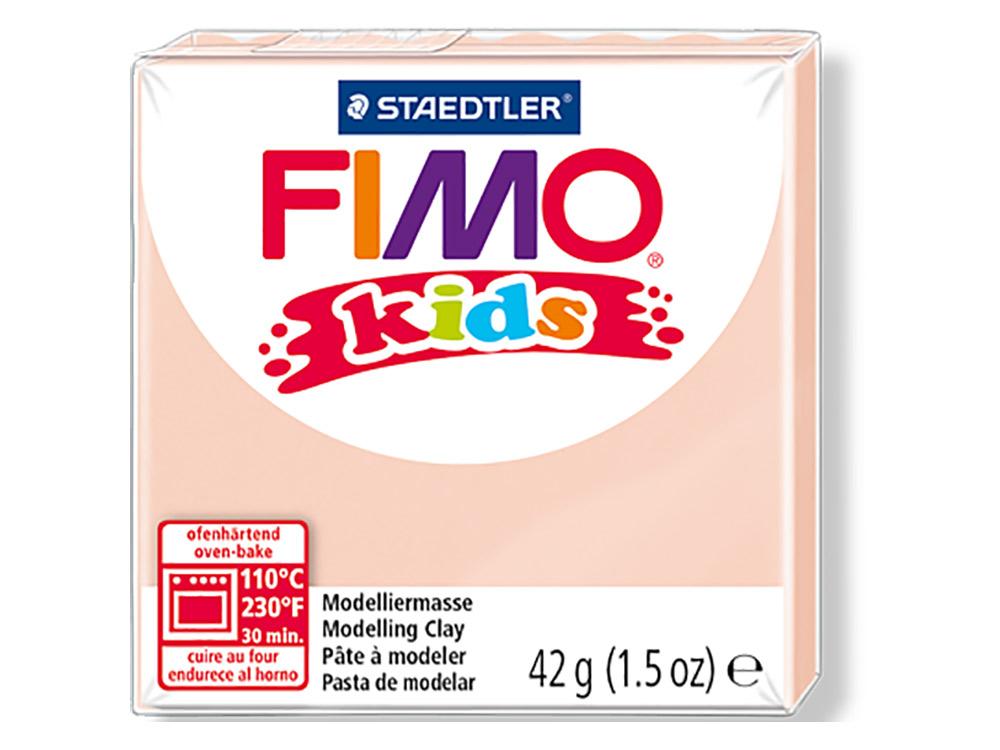 FIMO Kids 43 (телесный)Полимерная глина FIMO<br>Полимерная глина — удивительный материал для творчества и декоративно-прикладного искусства. Лепка из полимерной глины в равной степени увлекает детей и взрослых, вдохновляет мастеров и новичков. Этот вид творчества не требует профессиональной подготовки ...<br><br>Артикул: 8030-43<br>Вес: 42 г<br>Цвет: Телесный<br>Серия: FIMO Kids