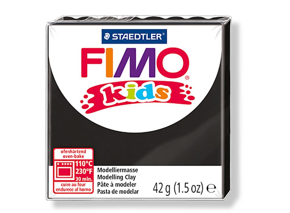 FIMO Kids 9 (черный)Полимерная глина FIMO<br>Полимерная глина — удивительный материал для творчества и декоративно-прикладного искусства. Лепка из полимерной глины в равной степени увлекает детей и взрослых, вдохновляет мастеров и новичков. Этот вид творчества не требует профессиональной подготовки ...<br><br>Артикул: 8030-9<br>Вес: 42 г<br>Цвет: Черный<br>Серия: FIMO Kids