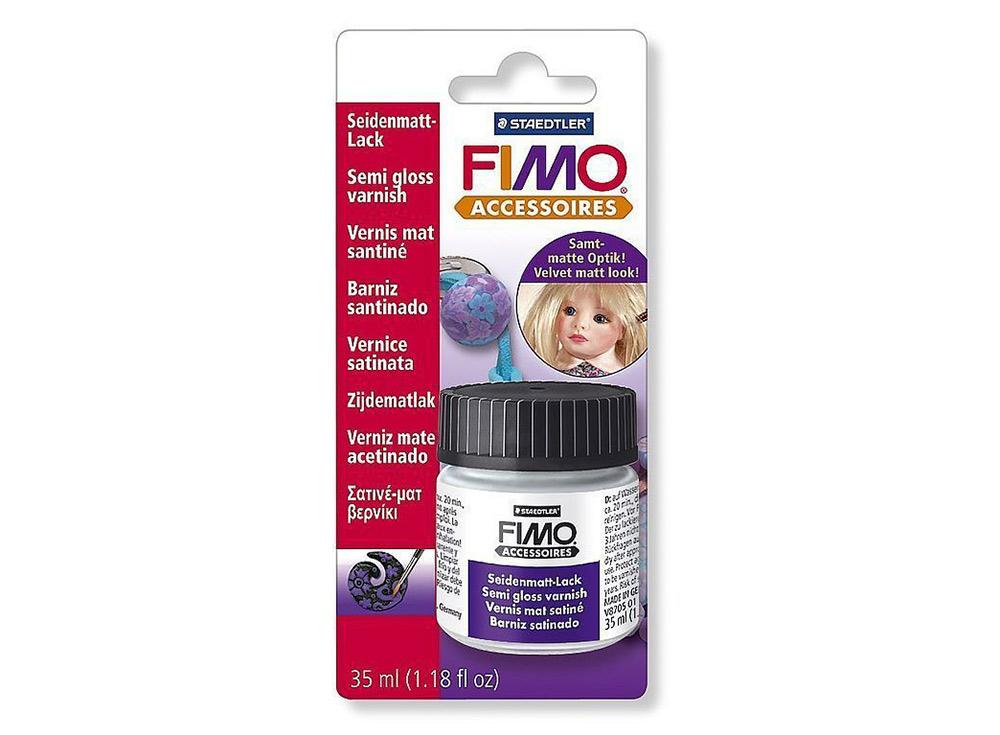 Полуматовый лак FIMO на водной основе, 35 млМатериалы для лепки<br><br><br>Артикул: 8705_01_BK<br>Вес: 35 мл