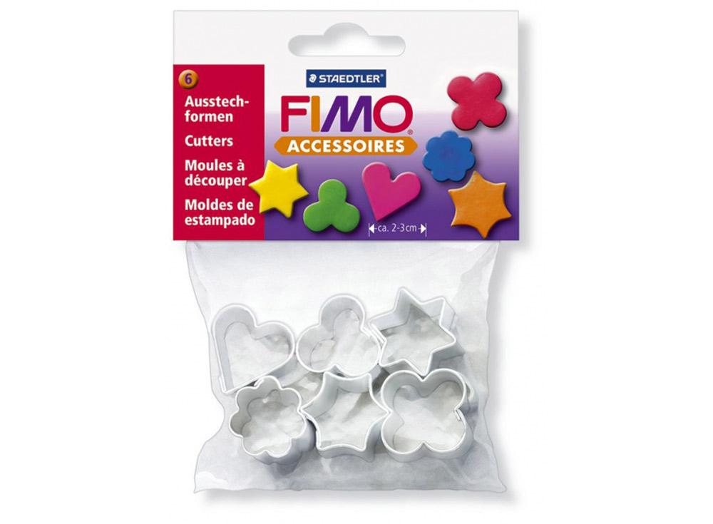 Набор каттеров FIMO, 6 формИнструменты для лепки<br><br><br>Артикул: 8724_03<br>Количество: 6 форм
