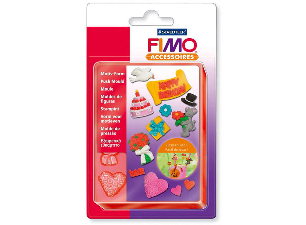 Формы FIMO «Свадьба и праздники»Инструменты для лепки<br><br>